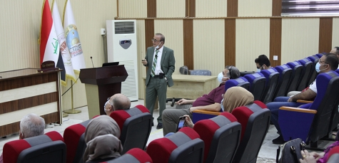 Kirkuk Medical College arranged a seminar about the steps of performing medical research