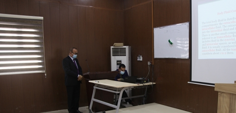 Kirkuk Medical College started the first day of integral teaching system for the New Year